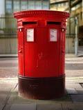Caixa de estação de correios dobro britânica Fotos de Stock