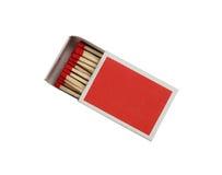 Caixa de fósforos Fotografia de Stock