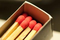 Caixa de fósforos Imagem de Stock