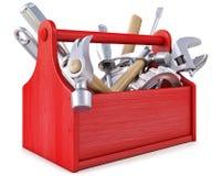 Caixa de ferramentas Fotografia de Stock