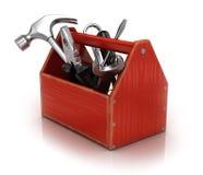 Caixa de ferramentas ilustração stock
