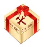 Caixa de ferramentas do Do-it-yourself Fotografia de Stock Royalty Free
