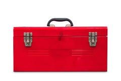 Caixa de ferramentas vermelha Foto de Stock Royalty Free