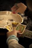Caixa de fortuna Imagens de Stock
