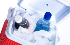 Caixa de gelo pequena Imagens de Stock