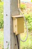 Caixa de interruptor velha Imagens de Stock