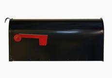 Caixa de IsolateMail com bandeira para baixo Fotografia de Stock