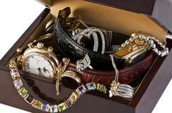 Caixa de jóia Fotos de Stock