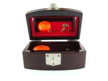 Caixa de jóia Foto de Stock Royalty Free