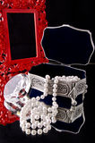 Caixa de jóia (2) Fotos de Stock Royalty Free