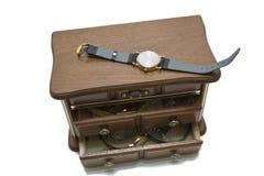 Caixa de jóia Fotografia de Stock Royalty Free