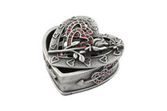 Caixa de jóia bonita Imagens de Stock