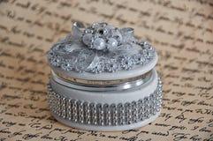 Caixa de jóia delicada Foto de Stock