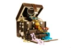 Caixa de jóia do art deco Fotos de Stock Royalty Free