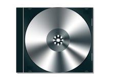 Caixa de jóia do CD/DVD com di cd Imagem de Stock
