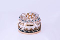 Caixa de jóia luxuosa fotos de stock royalty free