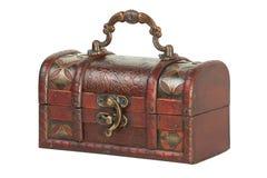 Caixa de jóia velha Imagens de Stock Royalty Free