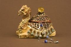 Caixa de jóia Imagem de Stock