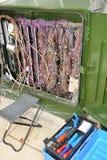Caixa de junção das telecomunicações Fotos de Stock Royalty Free