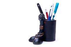 Caixa de lápis Fotografia de Stock Royalty Free