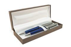 Caixa de lápis Imagens de Stock Royalty Free