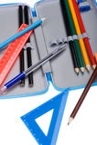 Caixa de lápis Foto de Stock Royalty Free