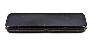 Caixa de lápis velha Imagem de Stock Royalty Free