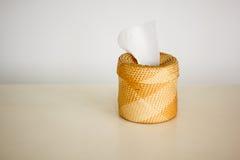 Caixa de lenço de papel Imagem de Stock