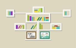 Caixa de livro Imagem de Stock Royalty Free