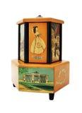 Caixa de música antiga imagem de stock