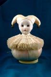 Caixa de música do jester do vintage Fotos de Stock