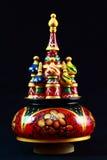 Caixa de música do russo Fotos de Stock