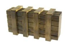 Caixa de madeira Fotografia de Stock Royalty Free