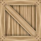 Caixa de madeira Foto de Stock