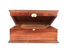 Caixa de madeira fotos de stock