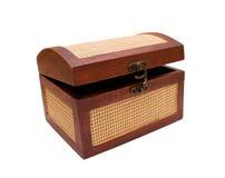 Caixa de madeira Fotografia de Stock