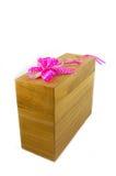 Caixa de madeira Fotos de Stock Royalty Free
