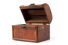 Caixa de madeira Imagem de Stock