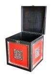 Caixa de madeira antiga Fotos de Stock Royalty Free