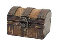 Caixa de madeira antiga Fotografia de Stock Royalty Free