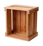 Caixa de madeira em aberto Imagens de Stock Royalty Free