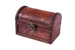 Caixa de madeira fechada Imagem de Stock