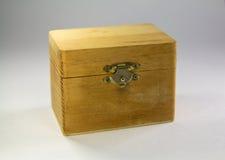 Caso de madeira imagem de stock