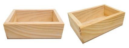 Caixa de madeira para empacotar foto de stock
