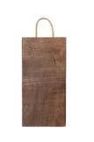 Caixa de madeira vazia isolada Imagem de Stock