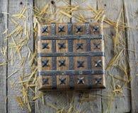 Caixa de madeira velha Foto de Stock