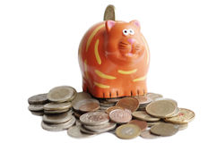 Caixa de moeda Fotos de Stock