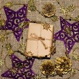 Caixa de Natal Fotografia de Stock Royalty Free