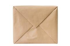 Caixa de papel amarrada com uma corda Imagens de Stock Royalty Free
