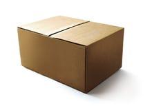 Caixa de papel do ofício Imagem de Stock